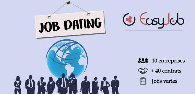Le Job Dating : une expérience validée par EasyJob